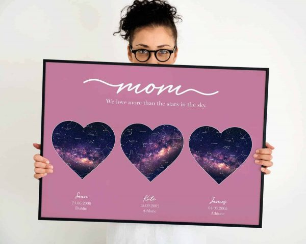 Mother Star Map 3 hearts