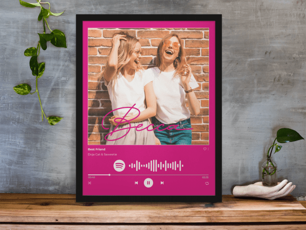 Spotify Code Music Photo Print Poster